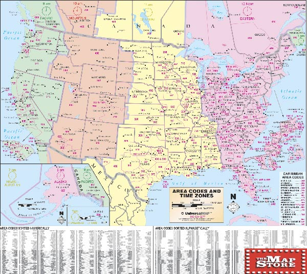 United States Map Time Zone